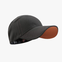 - cap black orange 3ds
