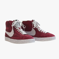 NIke - Mid Blazer Red Wine