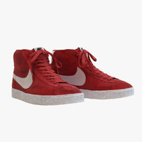 Nike - Mid Blazer Red
