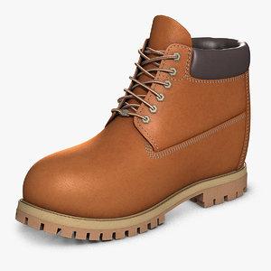max raised leather boot