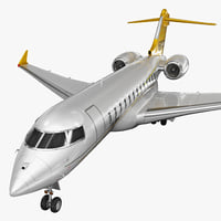 3d business jet bombardier global