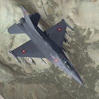 3ds max f16 falcon fighter rdaf