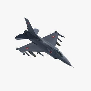 3ds max f16 falcon fighter rdaf