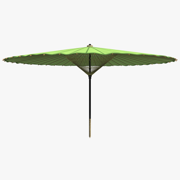 3d japanese silk umbrella