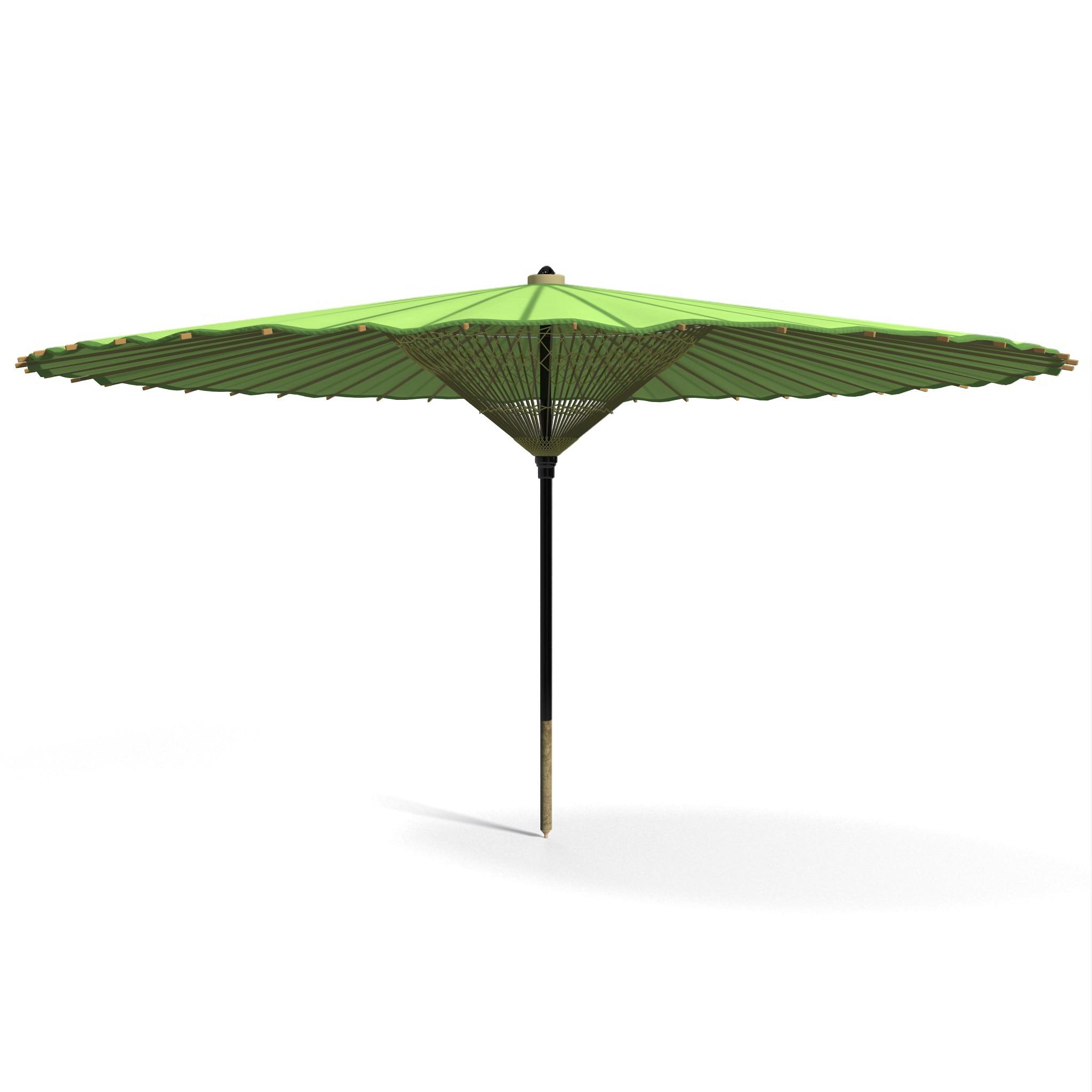 3d japanese silk umbrella