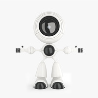 3d model robot smart robo