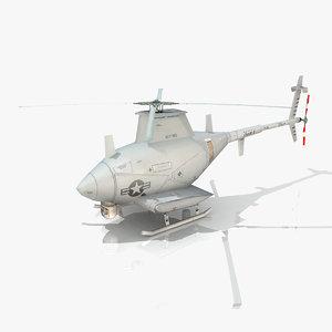 3d northrop mq-8 scout