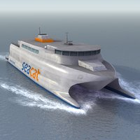 3ds seacat catamaran ferry