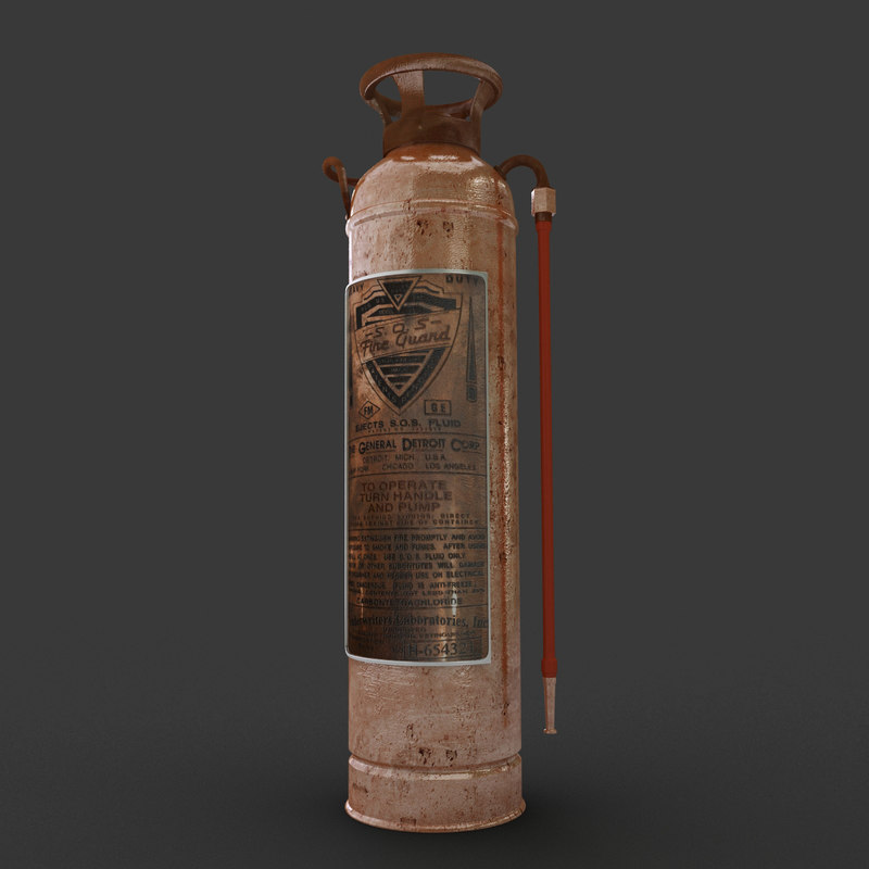 vintage extinguisher max