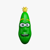 max cartoon character cucumber