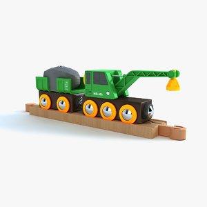 3d kids train toy 3