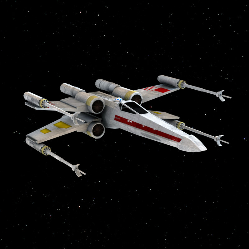 3ds x-wing