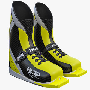3ds max ski jumping boots