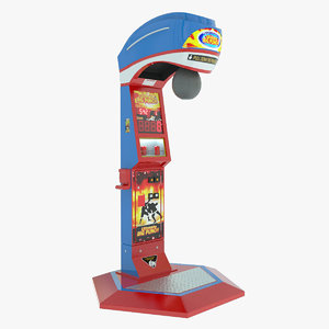 3ds max arcade boxing