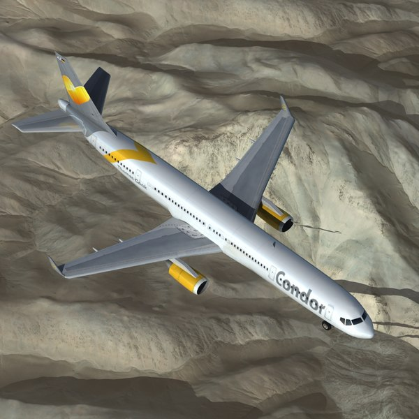 boeing 757 300 3d model