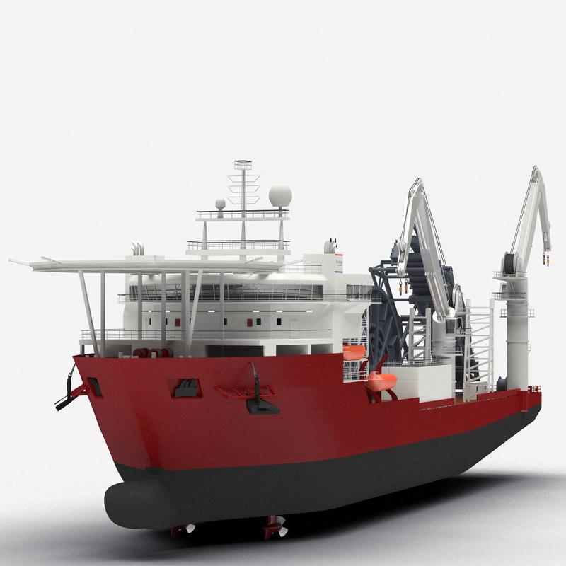 3d apache ii ship