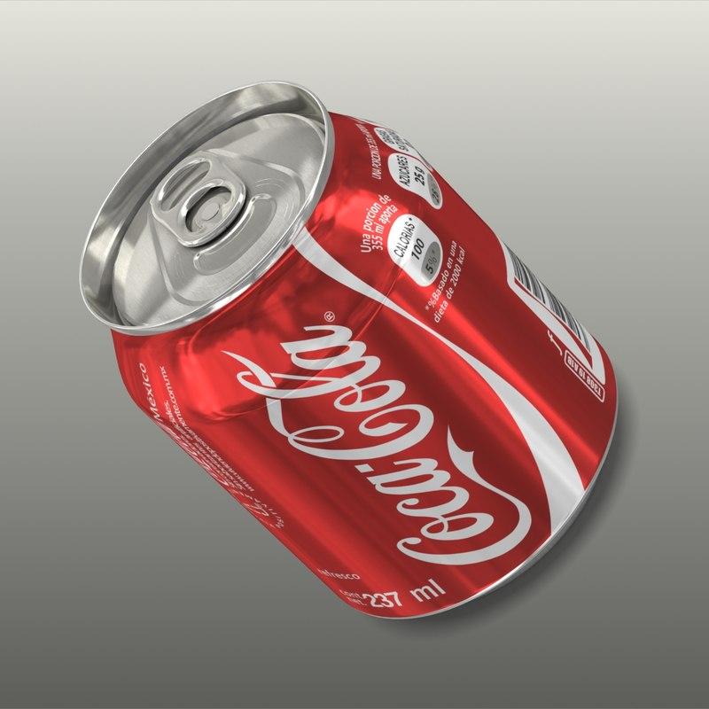 3d coke 237 ml