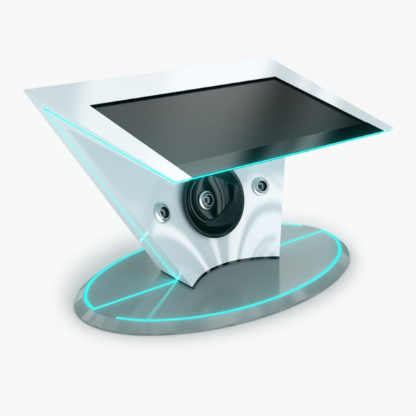 crasiis multitouch table cras 3d model