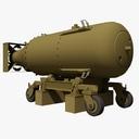 US WWII Little Boy Atomic Bomb