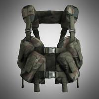 3d army tactical vest otter