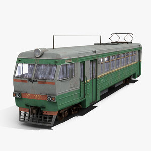 electric train 3d max