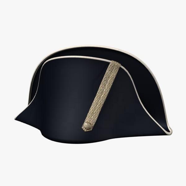 3ds max bicorne hat