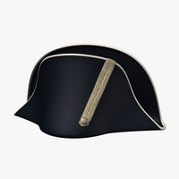 3ds max bicorne hat