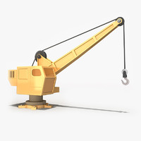 Cartoon Crane