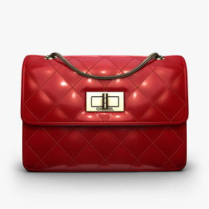 3d model purse chanel