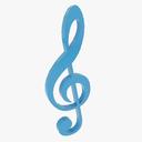 Musical Symbols 3D models