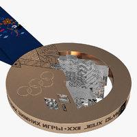 3d olympic bronze medal sochi