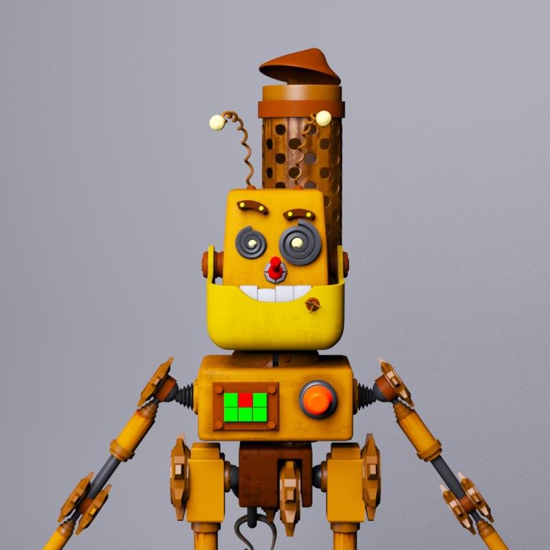 robot character bob