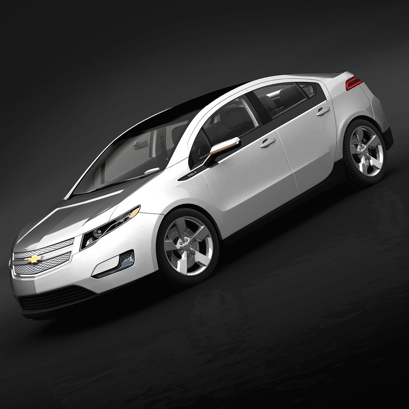 3ds max 2011 chevrolet volt