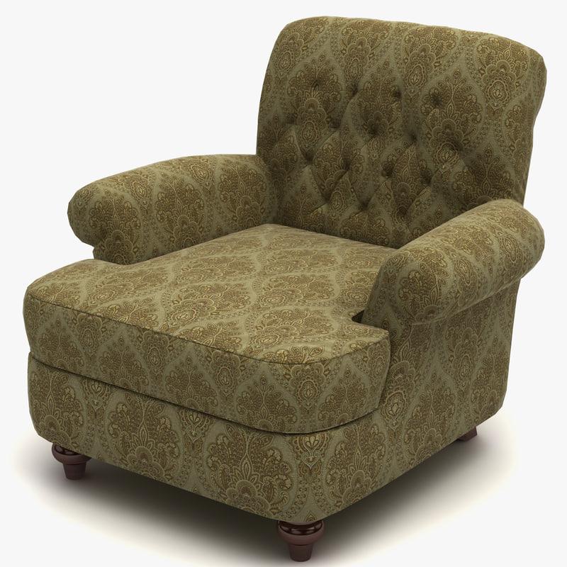 3d model armchair 20 chair design