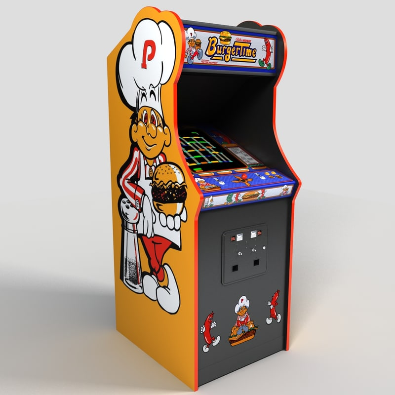 Image result for burger time arcade