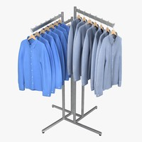 Men's Dress Shirt Rack
