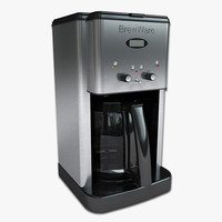coffee maker 3d max