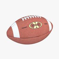 footbal ball 3d model