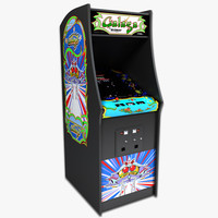 Galaga Arcade Machine