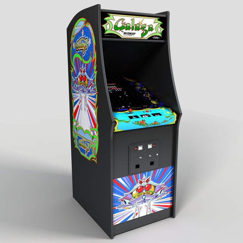 3d galaga arcade