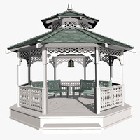 3d gazebo love shack