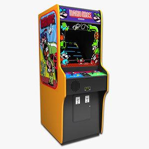 mario bros arcade model