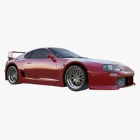 3d widebody supra trd model