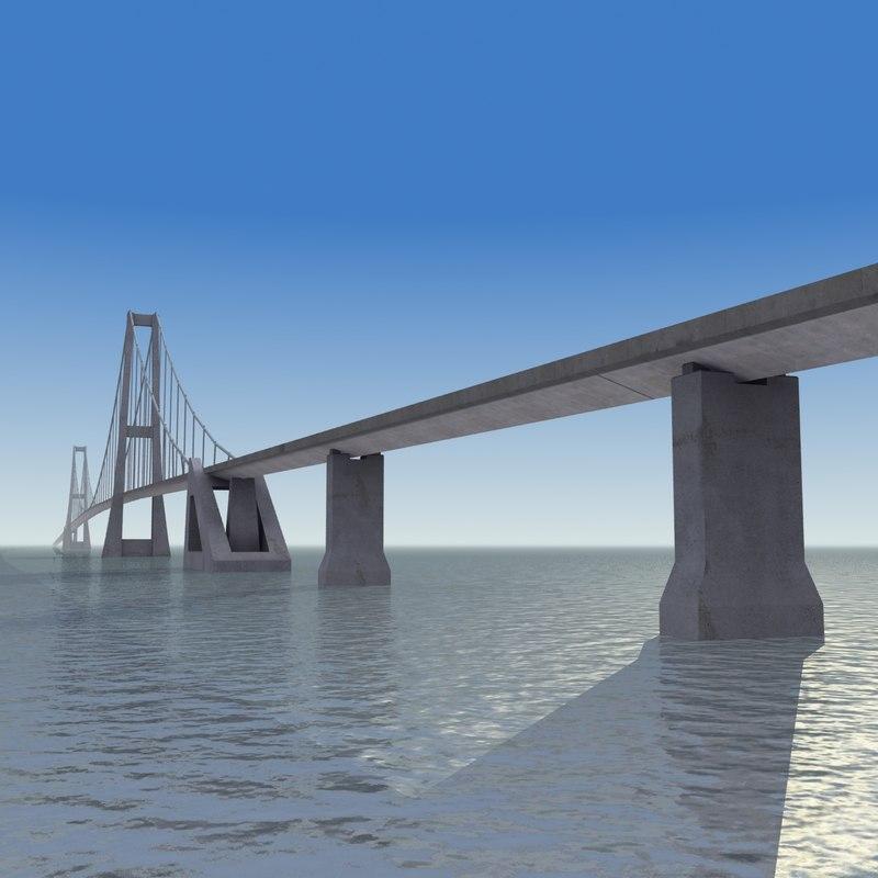 great belt east bridge 3ds