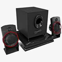 Home Theater System Supersonic SC-35HT