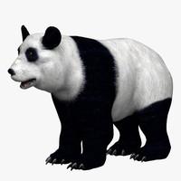 hand panda 3d model