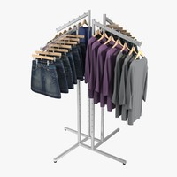 3d skirt sweater rack