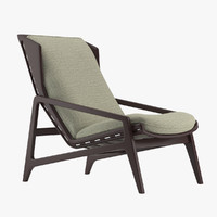 gio ponti lounge chair 3d 3ds