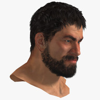 3ds max human head