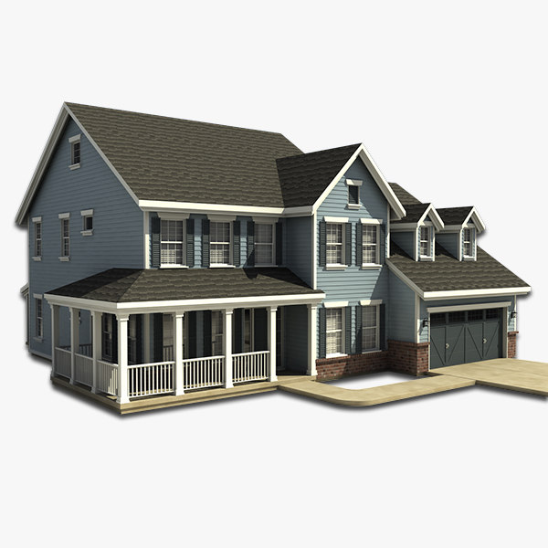 house 24 3d obj